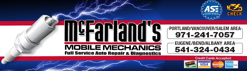 McFarlands Mobile Mechanics Full Service Auto Repair & Diagnostics