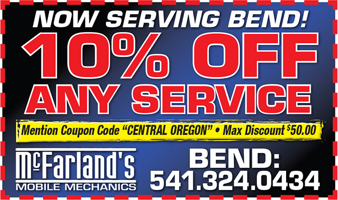 Bend Mobile Mechanic Coupon