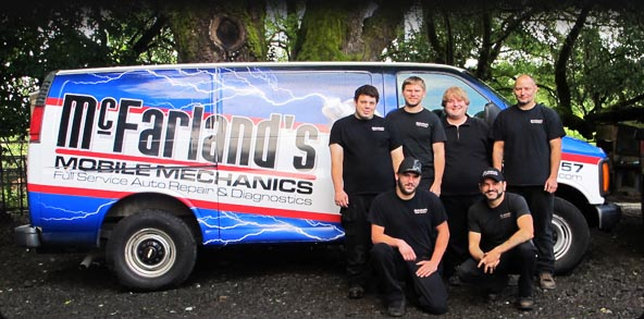 McFarland's Mobile Mechanics - Group Shot
