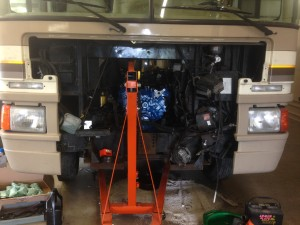 motorhome engine repair